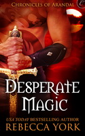 DESPERATE MAGIC cover