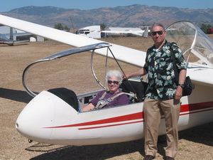 Glider Pilot and Observer